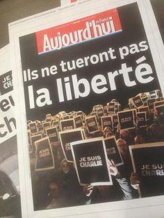 Charlie Hebdo : découvrez les Unes solidaires de la presse française et étrangère - Société - MYTF1News