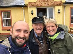 Tory Island Erfahrungsbericht – Mit der Fähre von Magheroarty Pier (Donegal) nach Tory Island Reisen und vom König Patsy Dan Rodgers empfangen werden.