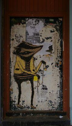 Street art from around the world Stencil Art, Stencils, Street Art Melbourne, Sam King, Melbourne Australia, Public Art, Graffiti, Art Photography, Around The Worlds
