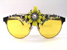 Festival Sunglasses, Burning Man Outfits, Big Yellow, Rave Festival, Badass Style, Love To Shop, Holiday Outfits, Uk Shop, Small Businesses