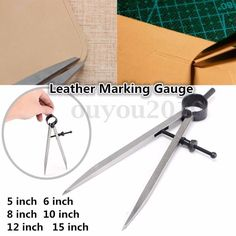 Craft Sha Leathercraft Wing Divider Leather Marking Gauge With Spring