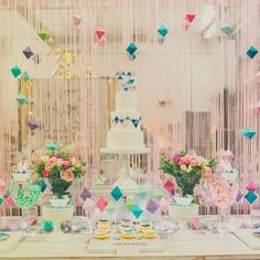 """Love hearts and geometrics go together like me and white chocolate! Fab party by @perfectlysweetlolliebuffet"""