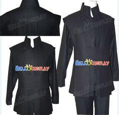Star Wars Luke Skywalker Black Uniform Costume Halloween