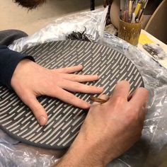 Homepage: RD Ceramics is a small business located in Southgate, KY that specializes in creating functional pottery for every day use. Slab Pottery, Pottery Plates, Ceramic Pottery, Clay Plates, Ceramic Plates, Ceramic Decor, Ceramic Art, Pottery Painting Designs, Pottery Designs