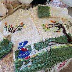 Knitting pattern baby cardigan Rabbit and Hedgehog Etsy Pdf Patterns, Baby Knitting Patterns, Baby Patterns, Hand Knitting, Knit Cardigan Pattern, Knitted Baby Cardigan, Summer Cardigan, Pattern Baby, Top Pattern