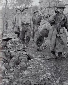 The Battle of Monte Cassino (also known as the Battle for Rome and the Battle for Cassino) was a costly series of four assaults by the Allies against the Winter Line in Italy held by the Germans and Italians during the Italian Campaign of World War II. The intention was a breakthrough to Rome. Over 4,100 men of the II Polish Corps lost their lives on Monte Cassino.