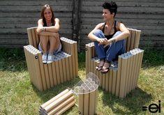 Cardboard chairs