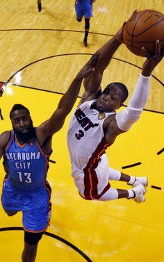 Miami Heat - OKlahoma 18/06/2012 #nba #heat #miami
