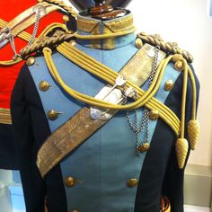 Officer's tunic of the 21st Lancers (Empress of India's)
