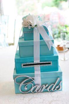 tiffany blue cardbox