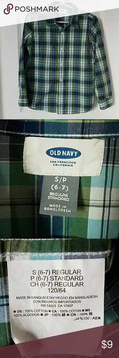 I just added this listing on Poshmark: Boys Old Navy button down shirt. #shopmycloset #poshmark #fashion #shopping #style #forsale #Old Navy #Other