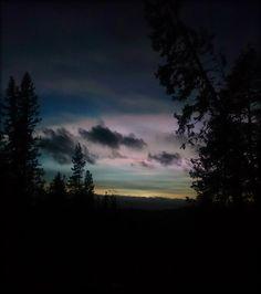 The sky tells a tale...