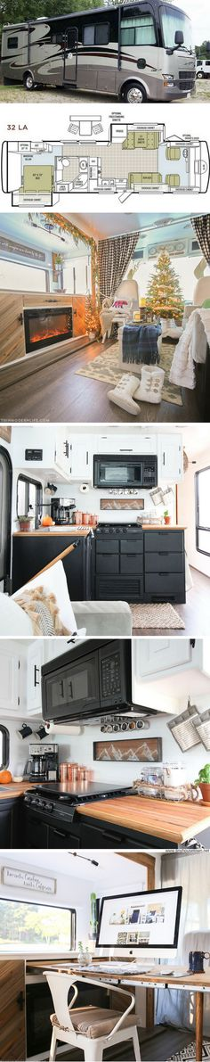 A stunning RV transformation by Mountain Modern Life