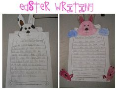 "Free Easter Writing templates. ""My Job as the Easter Bunny"""