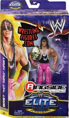 "Bret Hart - WWE Elite ""WrestleMania 30"" | Ringside Collectibles"