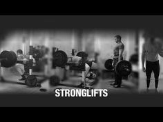 StrongLifts 5x5: The Simplest Workout To Get Stronger. Workout A: Squat, Bench Press, Barbell Row. Workout B: Squat, Overhead Press, Deadlift. http://stronglifts.com/5x5/