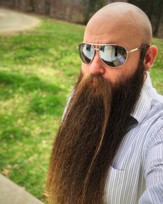 Growth, Muscle and Beards: Photo Shaved Head With Beard, Bald With Beard, Bald Men, Beard Love, Walrus Mustache, Beard No Mustache, Moustache, Grey Beards, Long Beards