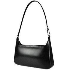 **New arrival** -Classic Black Leather Handbag -   This classic handbag created by Fontanelli is the perfect accessory for business and casual attire. This polished leather bag is sure to make a lasting impression. Made in Italy.