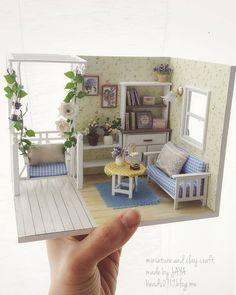 2018.03 Miniature Corner Dollhouse ♡ ♡ By Jaya