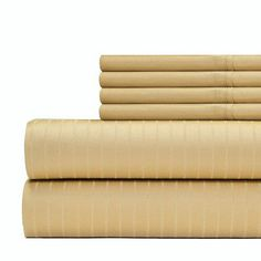Aspire Linens 6 Piece 700 Thread Count Sheet Set Size: California King, Color: White