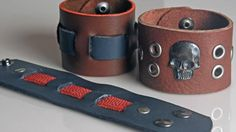 Preview Leather Bracelets with Jill Erickson, only on http:www.craftcast.com