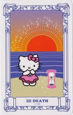 Tarot Hello Kitty 2 - La Mort