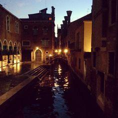 Evening in #Venice