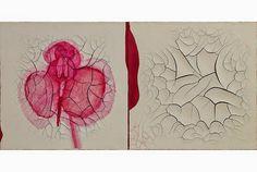 A artista contemporânea brasileira Adriana Varejão abre exposição no Victoria Miro Mayfair em Londres  Mais informações: http://artdaily.com/news/70556/Contemporary- Direitos de autor © artdaily.org