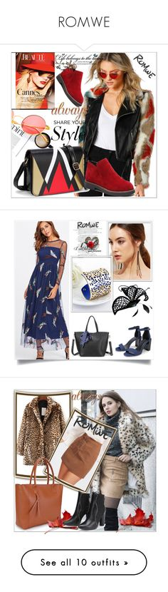 """""""ROMWE"""" by sabahetasaric ❤ liked on Polyvore featuring BoonTheShop, MAC Cosmetics and Post-It"""