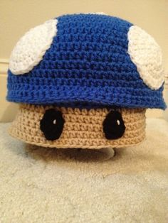 Ravelry: Mushroom Hat (All sizes) Optional earflaps and braids or make it a pillow pattern by Boomer Beanies
