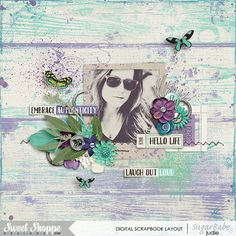 Hello Life | Created with Free Spirit by Digilicious Design