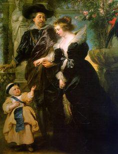 Caffè Artistico : Rubens e l´inno all´amore. Rubens, la moglie Helen...