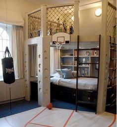 Les 15 lits superposés les plus cool du monde | Actualités Seloger Dream Rooms, Dream Bedroom, Cool Boys Room, Nice Boys, Room Kids, Cool Beds For Boys, Cool Bedrooms For Boys, Built In Beds For Kids, Unique Kids Beds