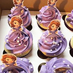 Image result for sofia the first cupcakes