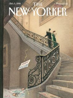 A collection of the magazine's cover illustrations that have toasted new beginnings throughout the years.