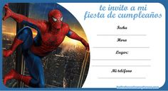 invitaciones-spiderman