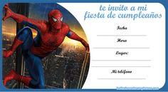 invitaciones-spiderman
