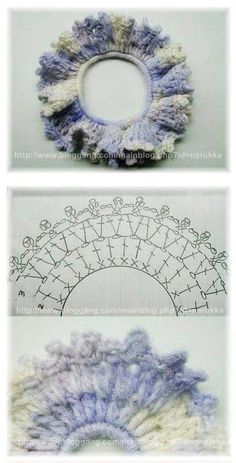 Learn about this crochet edgings You are in the right place about DIY Hair Accessories board Here we offer you the most beautiful pictures about the DIY Hair Accessories board you are looking for. Love Crochet, Diy Crochet, Crochet Doilies, Crochet Stitches, Crochet Hats, Crochet Hair Clips, Crochet Hair Styles, Crochet Earrings, Barrettes