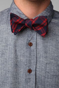 bow tie plaid