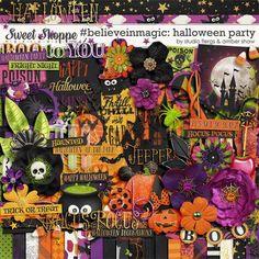 #believeinmagic: Halloween Party by Amber Shaw & Studio Flergs