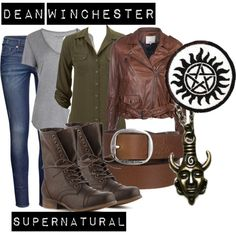 """Dean"" by fictionfreak on Polyvore"