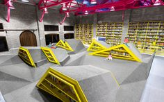 Playfully Unique Conarte Children's Library by Anagrama http://waveavenue.com/profiles/blogs/playfully-unique-conarte-childrens-library-by-anagrama