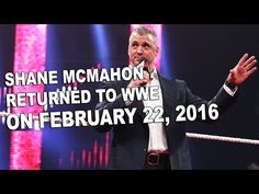 Vince Russo Talks Openly About Shane McMahon's WWE Return. Vince Russo Talks Openly About Shane McMahon's… Shane Mcmahon, Undertaker, Backstage, Wwe, Wrestling, Passion, Seasons, Dark