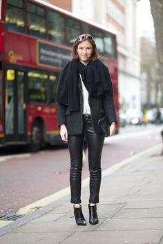 The Best London Fashion Week Street Style: Fall 2015