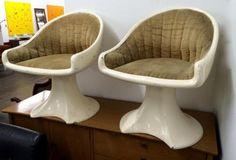 Set of Four Fiberglass Mid Century Chairs   Dealer #1208  $675 Set   Lucas Street Antiques Mall 2023 Lucas Dr.  Dallas, TX 75219  Like us on Facebook: https://www.facebook.com/lucasstreetant