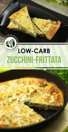 The zucchini frittata is low-carb, gluten-free and also super delicious. The zucchini frittata is low-carb, gluten-free and also super delicious. Veggie Recipes, Low Carb Recipes, Diet Recipes, Vegetarian Recipes, Healthy Recipes, Vegetarian Cooking, Vegetarian Salad, Vegetarian Diets, Wrap Recipes