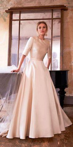 The Perfect Bridal Attire  What To Wear To A Winter Wedding. Casual  WeddingElegant Wedding DressWedding ... 3018dd6d6