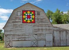 Barn Quilt 'Early Riser'
