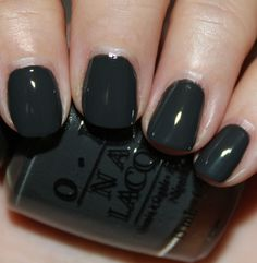 "OPI ""Nein! Nein! Nein! OK fine"".  Love this for fall"