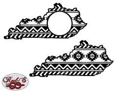 Aztec Kentucky by RedEorKnot on Etsy https://www.etsy.com/listing/251723275/aztec-kentucky